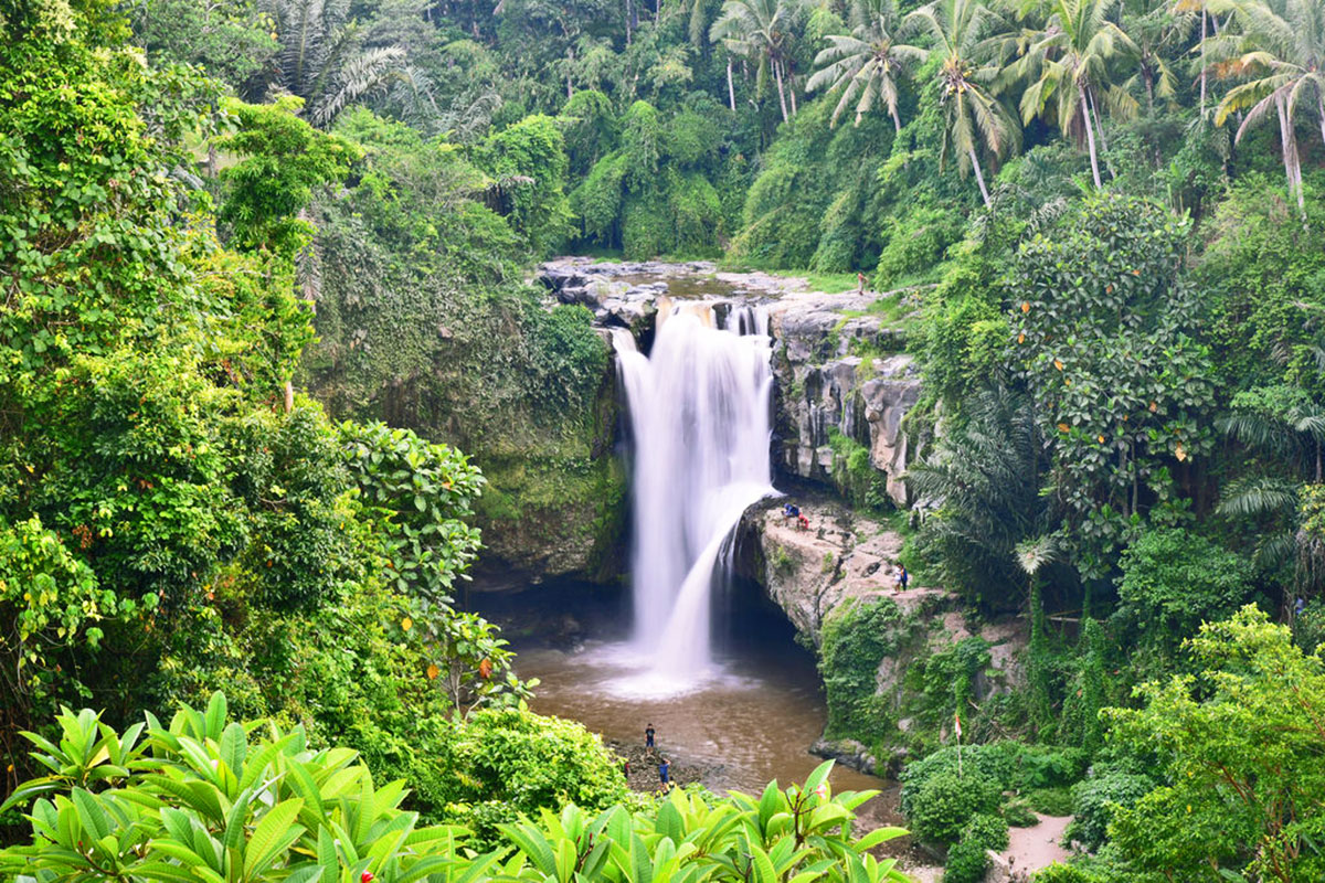 tegenungan-waterfall Yoga Teacher Training Goa